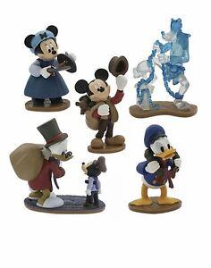 DISNEY Mickey/'s Christmas Carol Figure Figurine Deluxe Play Set NEW Cake Topper