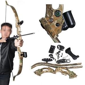 New Abs Takedown Recurve Bow Set Archery Hunting Shooting