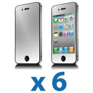6x-Mirror-LCD-Screen-Protector-Cover-Shield-for-Apple-iPhone-4-4G-4S