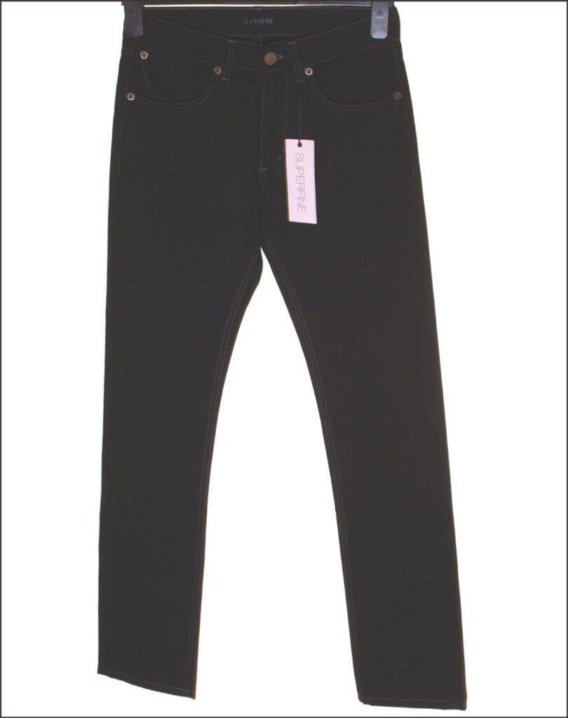 BNWT Herren Superfine Skinny Sly Jeans W36 L34 Schwarz 220 Neu     | Sonderangebot  | Ausgewählte Materialien  | Preiszugeständnisse