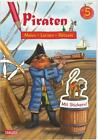 Piraten: Malen Lernen Rätseln von Lena Bachmann (2015, Taschenbuch)