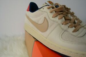 hot sales 56656 519ba Image is loading Nike-Legend-Sneaker-Sz-8-Tan-Ecru-Navy-