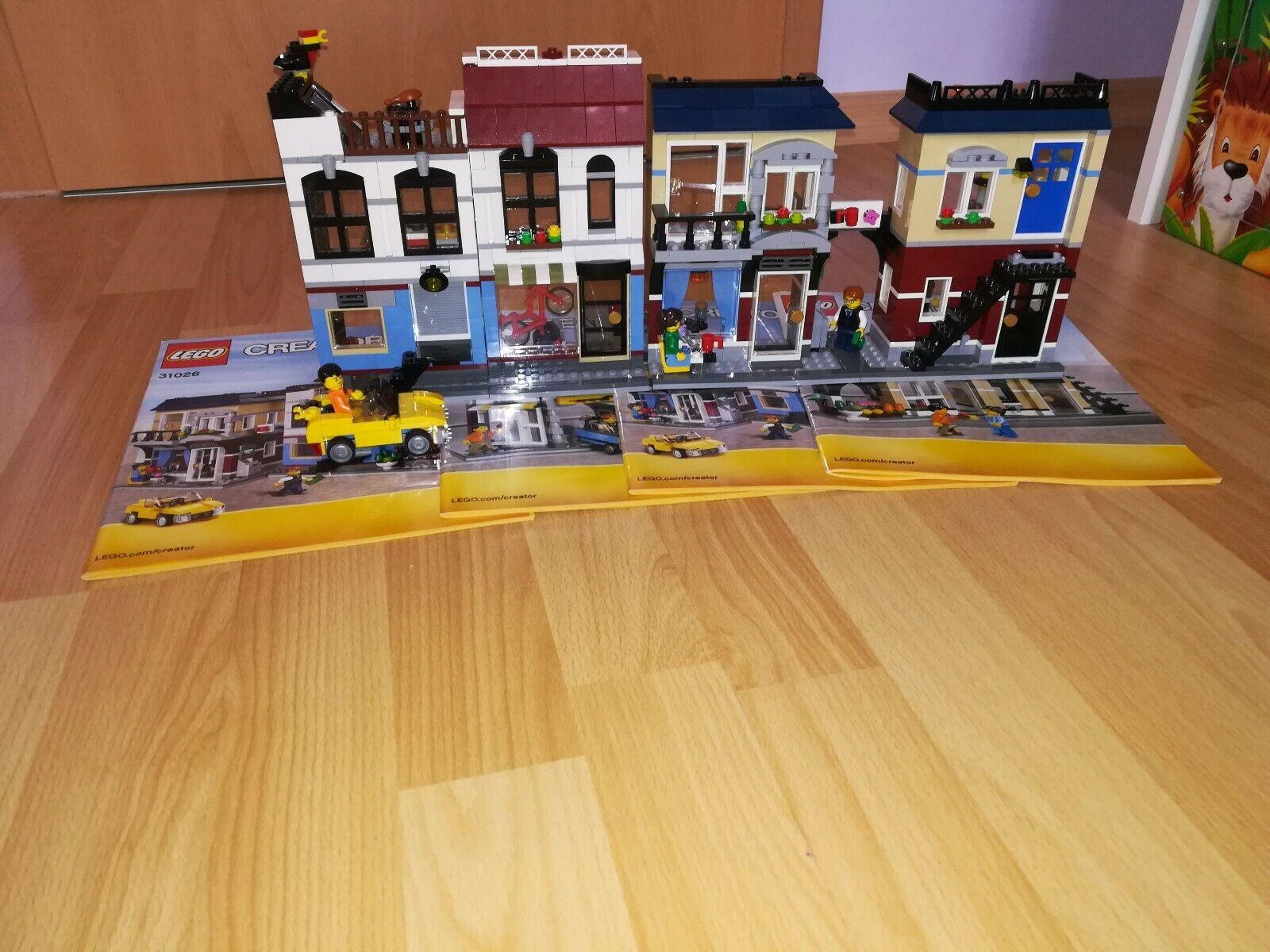 2x Lego creator 31026 fahrradlafen Cafe