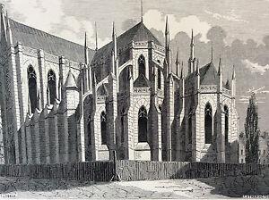 Paris-Sainte-Clotilde-Print-of-1856-France