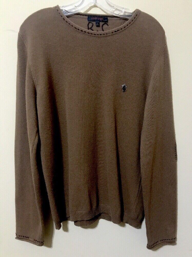 Roberto Cavalli Man's Sweater  Size EU M. Made In