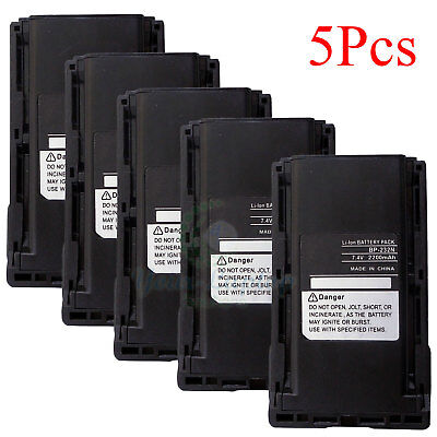 2x BP-232 Li-ion Battery For ICOM IC-F4160D IC-F3161 IC-F4161 IC-F3162 IC-F4162