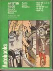Vintage Austin Morris Wolseley 1800-Owner's Workshop Manual, 1964-1975 Autobook