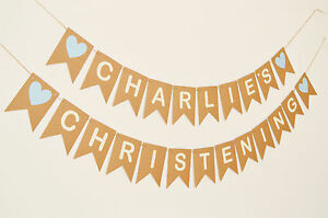 image is loading personalised christening decorations bunting banner boy blue baptism