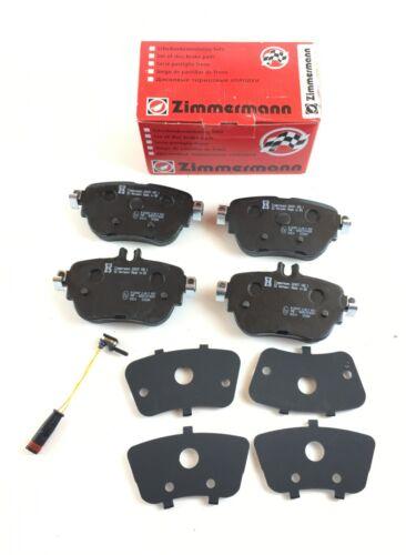 Bremsbelagsatz Incl warnkontakt arrière Zimmermann CLASSE E w213 a238 c238 s213