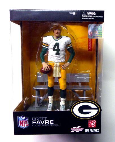 QB Brett Favre New Collector's Sealed Box Set McFarlane Sports 2008 NFL Amricons