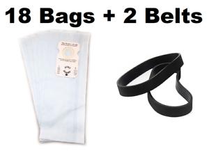 8650 8950 18 Vacuum Bags for Riccar Type B 8955 8920 plus 2 Belts 8925 8850