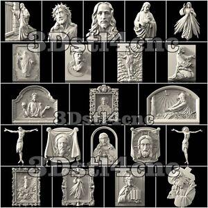 21-3D-STL-Models-Religion-Jesus-for-CNC-Router-Carving-Machine-Artcam-aspire