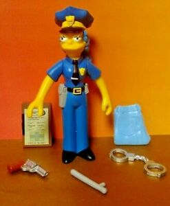 The-Simpsons-Marge-Simpson-Officer-WOS-Interactive-Talking-Figure-amp-Accessories