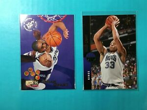 BRIAN-GRANT-2-ROOKIE-CARDS-1994-95-COLLECTOR-039-S-CHOICE-DRAFT-8-amp-94-CLASSIC-GOLD
