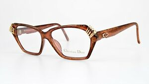 CHRISTIAN-DIOR-Brille-mod-2470-81-Optyl-80s-Vintage-Eye-Frame-Lunettes-Strass