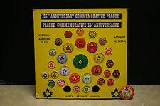 RARE 1976 '35TH ANNIVERSARY' 'CANADIAN SKI PATROL COMMEMORATIVE' OF 30 PINS