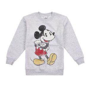 7ac2050d74f9 Disney Mickey Mouse Boys Crew Sweat Kids Sweatshirt - Mickey Vintage ...