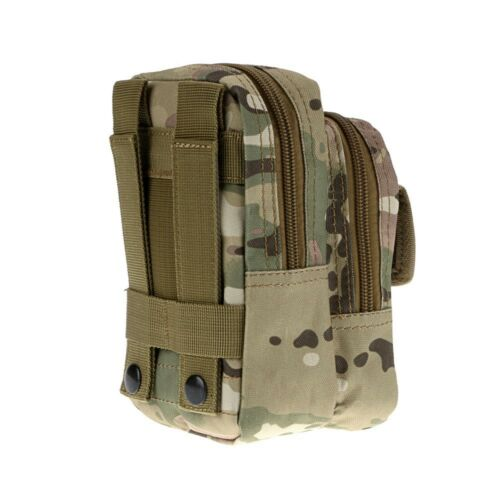 Tactical Molle Pouch Waist Backpack Military Fanny Pack Belt Phone Tools Bag