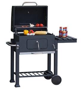Barbecue-boule-Barbecue-au-charbon-de-bois-Barbecue-sur-pied-Barbecue-BBQ-Smoker