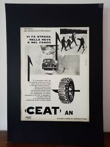 Pubblicita-originale-CEAT-anni-039-60-rifilatura-da-rivista-in-passepartout