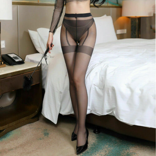 SexyFemale Stockings Open Socks  Pantyhose Underwear Crotch Breathable