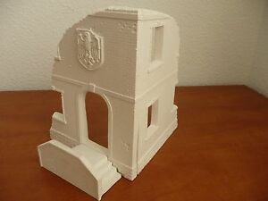 WWII-German-building-staircase-ruins-for-diorama-1-35-accessories