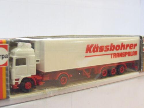 g3025 Herpa 807232 volvo kühlkoffersattelzug Kässbohrer trans polar embalaje original