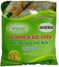 28cm che vietnamita Commestibili Carta di riso INSALATA primavera Rotolo Pelle wrapper BaNh TRANG 340 g