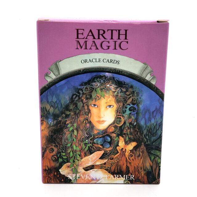 NEW Magic Oracle Cards Earth Magic Read Fate Tarot 48-card Deck Set HOT