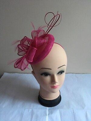 Elegant Headband Fascinator Hat Aliceband Wedding//Race Royal Ascot//Ladies Day