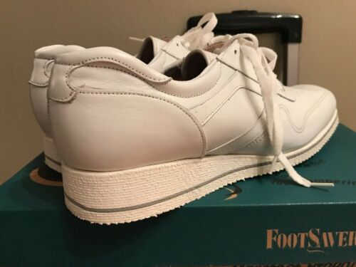 Leather New Womens Box 9 Oxford White Activity Shoes Drew In OpqTgwF