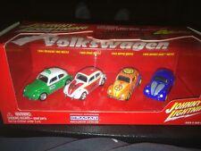 Johnny Lightning  Volkswagen Beetle  4 Car Box Set