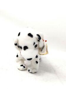 """Rescue Dalmatian Ty Beanie Baby Retired 2001 FDNY 9/11 Dog  5.5"""""""