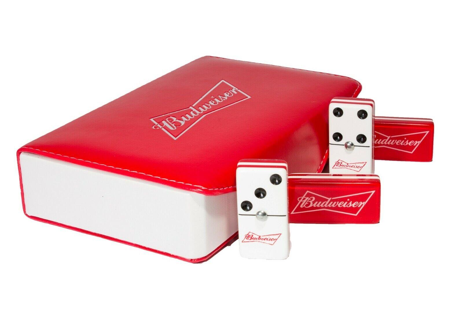 Budweiser Jumbo Domino Doble Seis, 5 capas 100% Acrílico