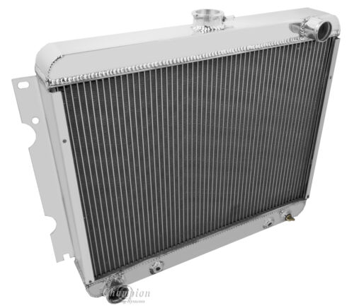 Plymouth Cars Lifetime Warranty 3 Row All Aluminum  Radiator 1970-72 Dodge