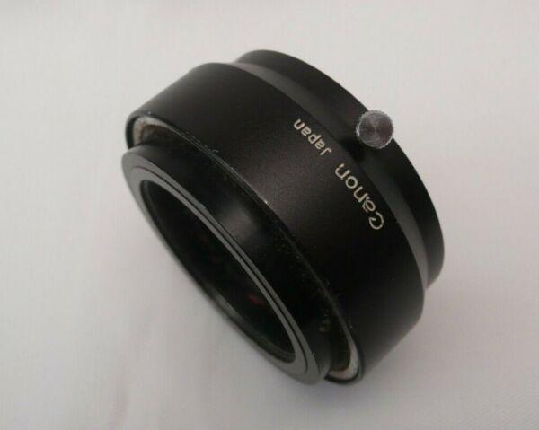 Canon Rangefinder Lens Hood W-50-a W50a 50 Mm Pince Avec Plus De Montage Peut êTre à Plusieurs Reprises Replié.