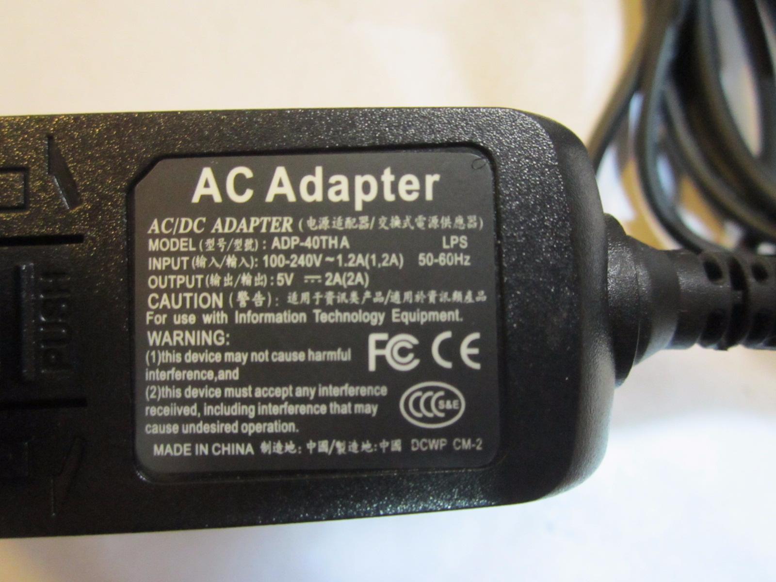 +5V/2.0Amp 5V 2A 3.0mm x 1.0mm Power Adaptor for OWC Mercury On-The-Go HD Case
