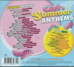 VARIOUS-ARTISTS-Total-Girl-Summer-Anthems-UK-IMPORT-CD-NEW