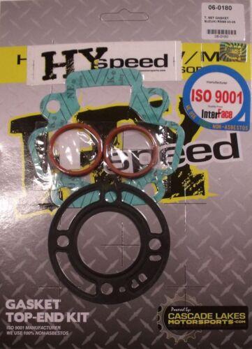 HYspeed Top End Head Gasket Kit Set Suzuki RM65 2003-2005