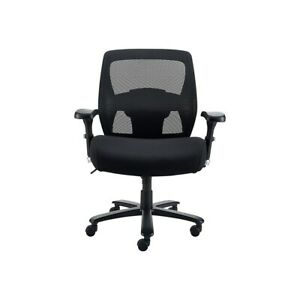 Staples Driscott Mesh Big And Tall Chair Black 1680262