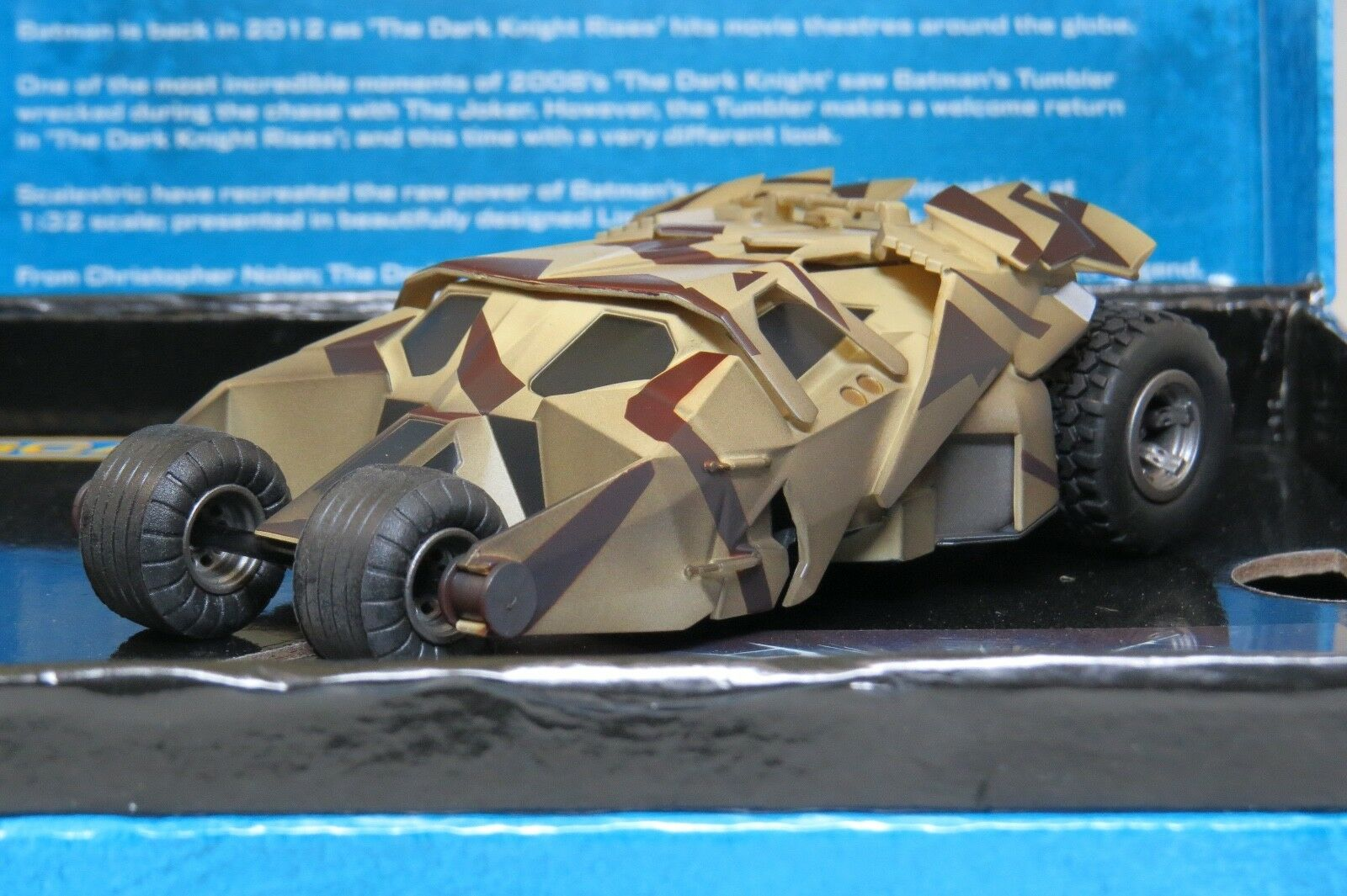 Scalextric Batman Tumbler, The Dark Knight Rises Limited Edition of 2000 C3333A
