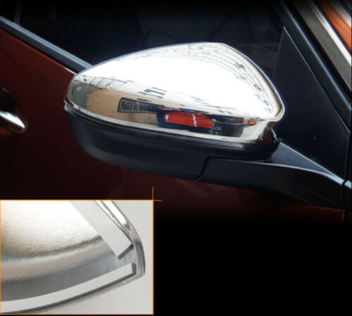 ABS Chrome Side Rearview Mirror Cover Trim 2pcs  for Peugeot 3008 3008 GT 16-18
