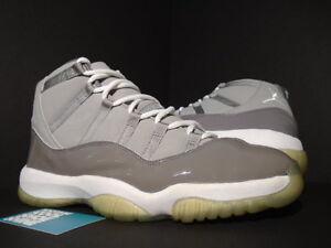79631c06e707c 2001 Nike Air Jordan XI 11 Retro COOL GREY WHITE BLACK PATENT 136046 ...