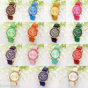 BRANDED CHRONOGRAPH STYLED WOMEN'S WRIST WATCH - WITH FREE SPARE BATTERY