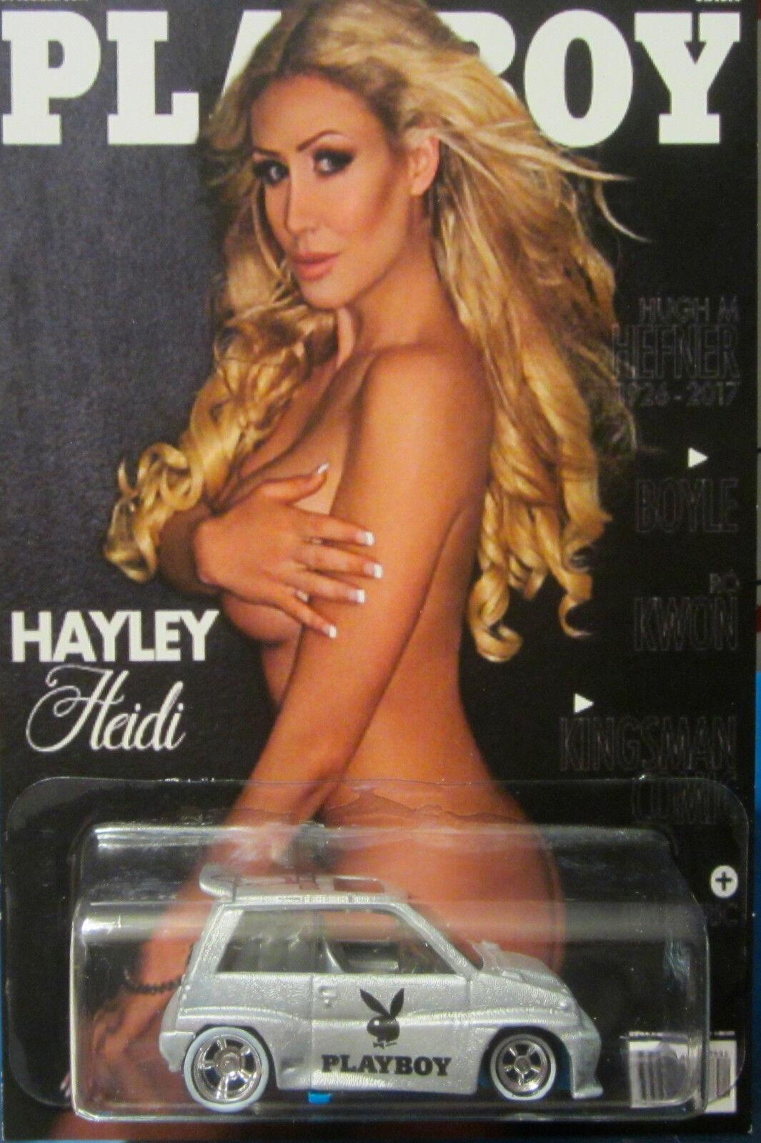 Hot Wheels Custom Custom Custom '85 Honda City Playboy Hayley Heidi Echten Fahrern Limitiert  | Öffnen Sie das Interesse und die Innovation Ihres Kindes, aber auch die Unschuld von Kindern, kindlich, glücklich  2b43d7