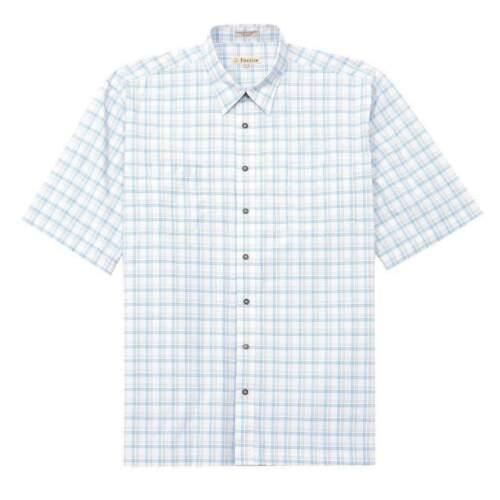 Foxfire Big and Tall Easy Care Two Pocket Plaid Shirt