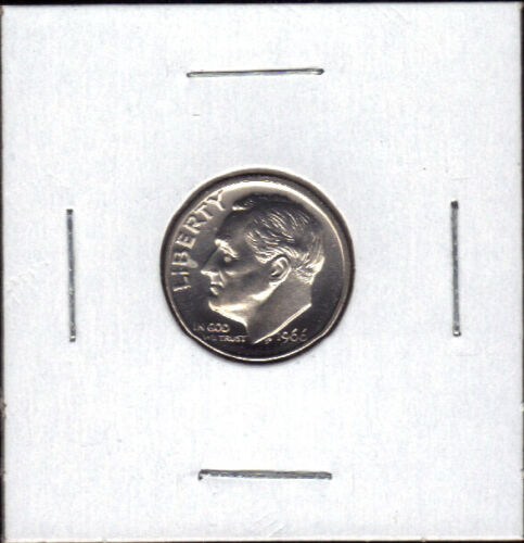 1966 SMS SPECIAL MINT SET UNCIRCULATED ROOSEVELT DIME