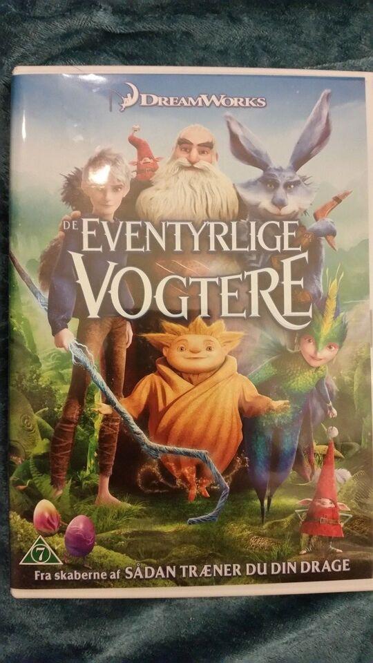 De Eventyrlige Vogtere / rise of the guardians, DVD,