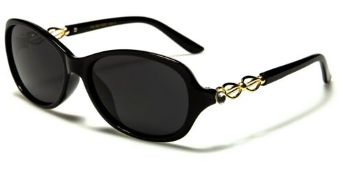 VG Polarized Slim Papillon Ovale Strass Design Lunettes De Soleil Femme 100/% UV400 928