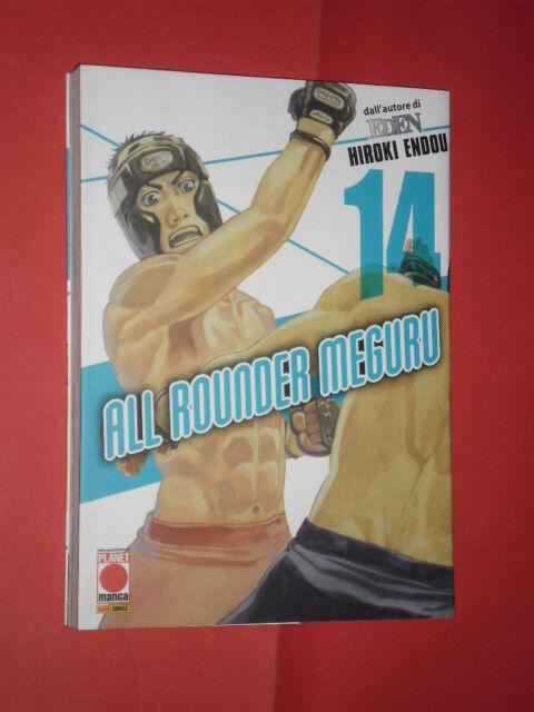 ALL ROUNDER MEGURU -N°14  DI:HIROKI ENDOU- PLANET MANGA PANINI COMICS